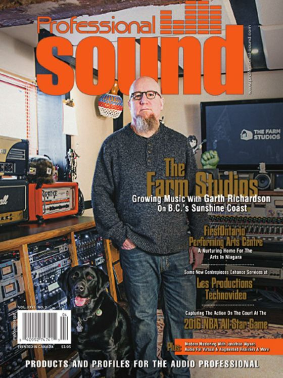 Professional Sound April 2016